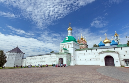 Great monasteries of Russia  The Trinity-Sergius Lavra  The tomb of Russian tsar Boris Godunov