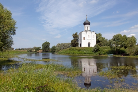 Golden Ring of Russia  Church of Intercession upon Nerl River photo