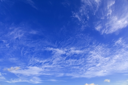 Clear blue sky and clouds Stock Photo - 14526995