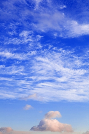 Clear blue sky and clouds Stock Photo - 14526997