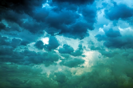 The storm sky before a rain Stock Photo - 14526991