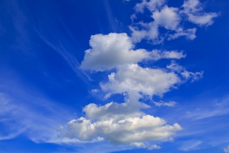 Clear blue sky and clouds Stock Photo - 14526990