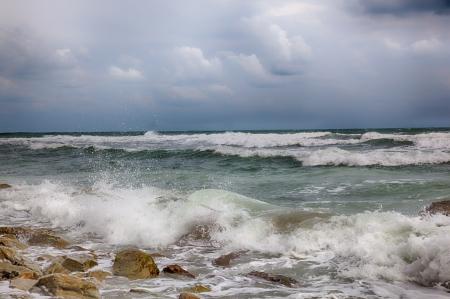 Sturm auf dem Meer nach einem regen HDR-Bild Standard-Bild - 15314862