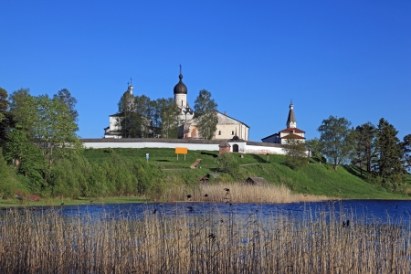 monasteries: Great monasteries of Russia  Ferapontov Stock Photo