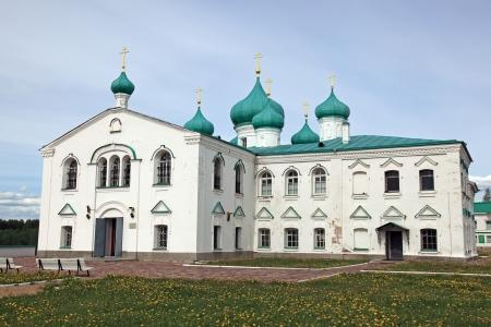 monasteries: Great monasteries of Russia  Alexander-Svirsky Stock Photo