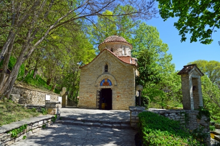 balchik: Medieval Orthodox church shot at Balchik, Bulgaria Stock Photo