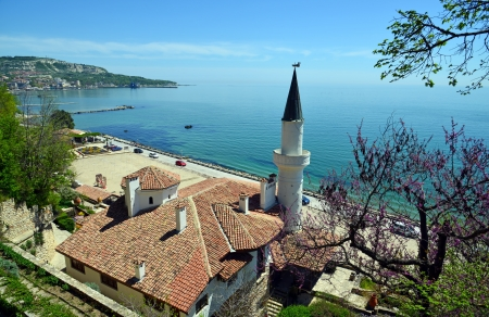 Residence of the Romanian queen by the black sea in Balchik, Bulgaria Editorial