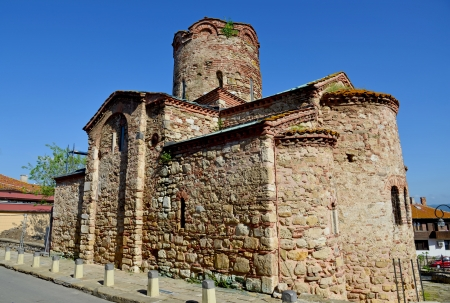 baptist: St  John The Baptist church in Nesebar, Bulgaria Stock Photo