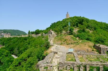 veliko: Tsarevets Fortress in Veliko Turnovo, Bulgaria