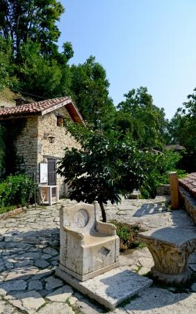 balchik: Residence of the Romanian queen by the black sea in Balchik, Bulgaria Editorial