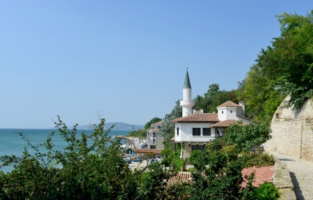 balchik: Residence of the Romanian queen by the black sea in Balchik, Bulgaria Editorial