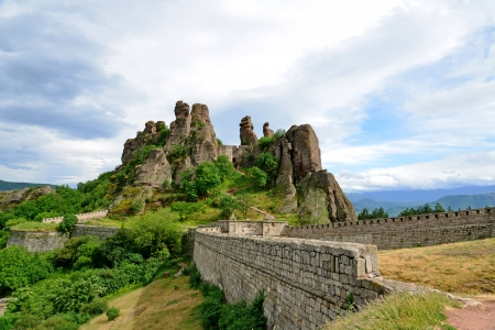 Belogradchik rocks Fortress, Bulgaria Stock Photo