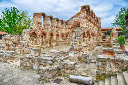 Alte Kirche in Nessebar, Bulgarien. HDR-Bild Standard-Bild - 32862917