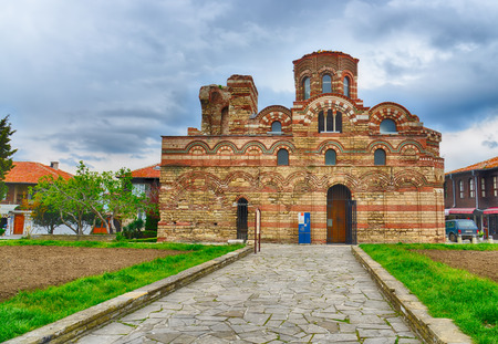 curch: The Christ Pantocrator Curch in Nessebar,Bulgaria. HDR image