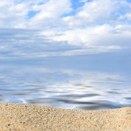 Sun and island beach. Summer shot photo