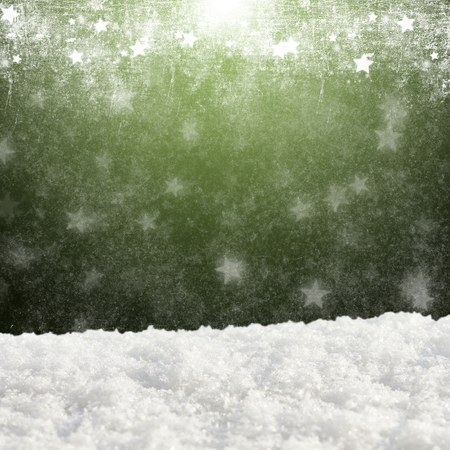 natural pattern: Christmas festive background with snow drifts on an abstract background Stock Photo