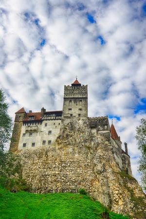 bran: Draculas Bran Castle, Transylvania, Romania, Europe.