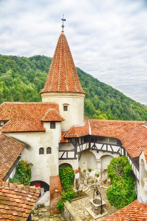 bran: Draculas Bran Castle, Transylvania, Romania, Europe.HDR image