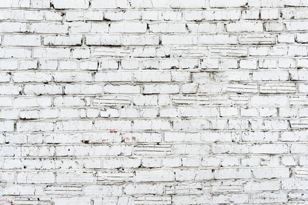 dirty room: Old white brick wall texture background