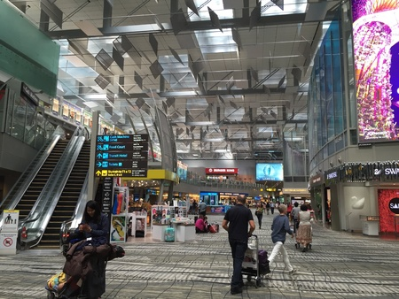 payphone: Duty Free Shopping Area Singapore Changi Airport Terminal 3