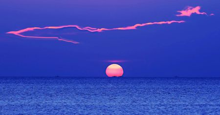 Simple natural phenomena give greatness of God photo