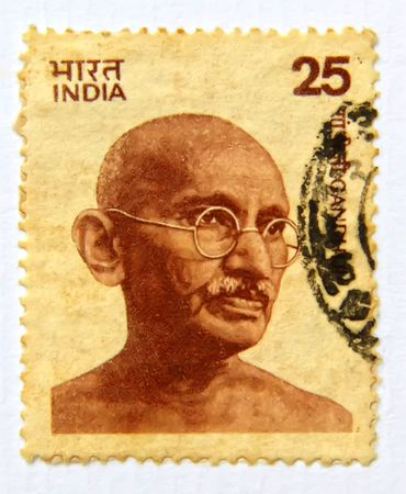 20 years old: Mahatmha Gandhi, old postage more than 20 years old of India