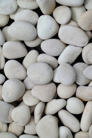 white river stone in the river there are lots of Java, Indonesia photo