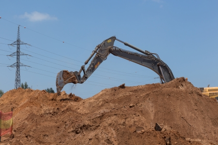 Laying of new high-speed roads in Israel