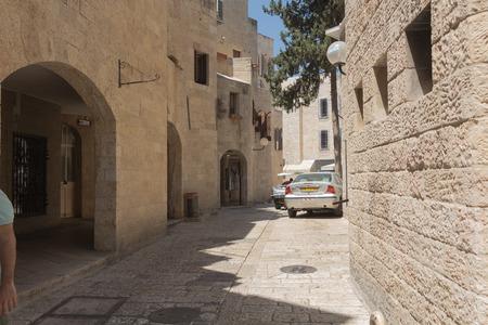 Walk through the ancient streets of Jerusalem