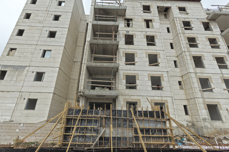 residential construction: Construction of a residential area.