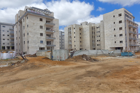 property development: Construction of a residential area.