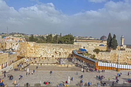 Walk through the golden Jerusalem.