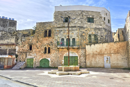 Hebron. Ancient Jewish city in Israel. Stock Photo