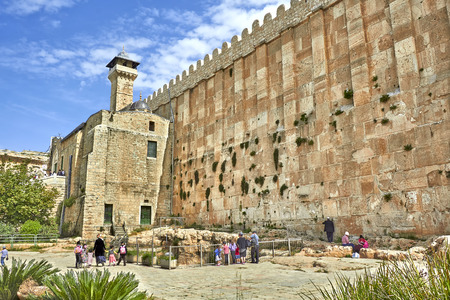Hebron. Ancient Jewish city in Israel. 写真素材