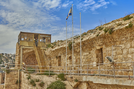 Hebron. Ancient Jewish city in Israel. Editorial