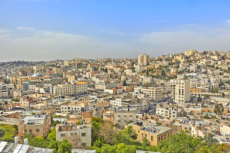 Ancient Jewish city in Israel. Stock Photo