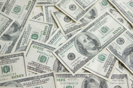 Money background of One Hundred dollar bills  Stock Photo - 4832776
