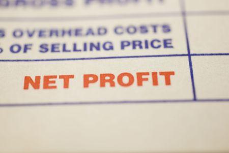 Macro shot of general invoice Stock Photo - 4848507
