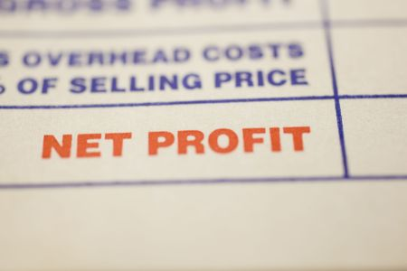 Macro shot of general invoice  Stock Photo - 4848617