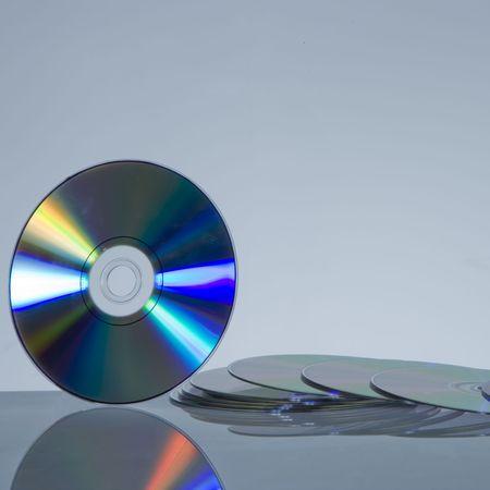 rewritable: rewritable discs on reflective surface