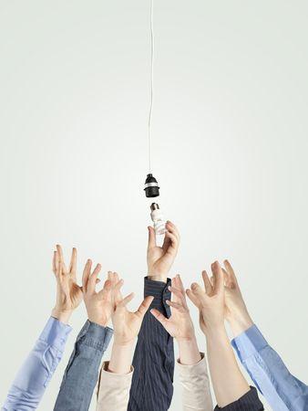 creativity  and energy concept  Stock Photo