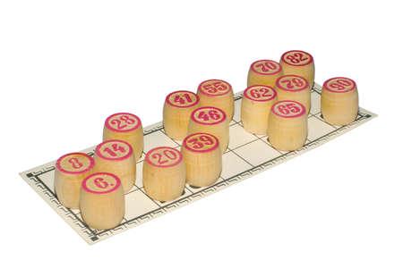 kegs: the lotto kegs on card