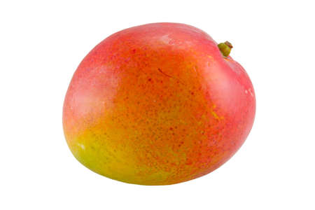 the mango fruit isolated with clipping path Stock Photo