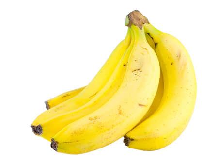 banana bundle isolated on white background