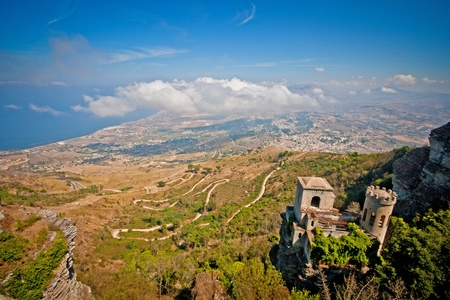 sightsee: Great view from Erice city