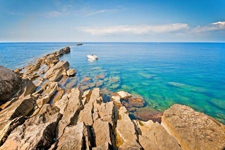trapani: Calm sea in Trapani