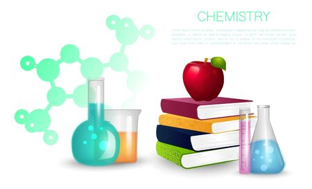 Education and science concept illustration.