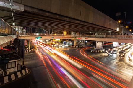 hectic life: Traffic Jam in Bangkok, Thailand
