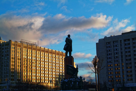 Monument to Lenin in Moscow