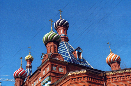 val: Church in Moscow in the spring, serpukhovskoy Val